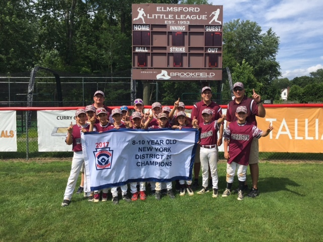 Harrison Wins 10U Tournament